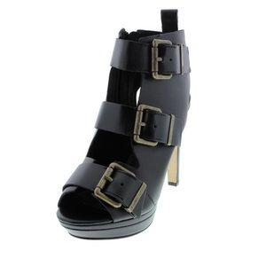 Diesel Melrose Riley Heels Platform Sandals 7.5